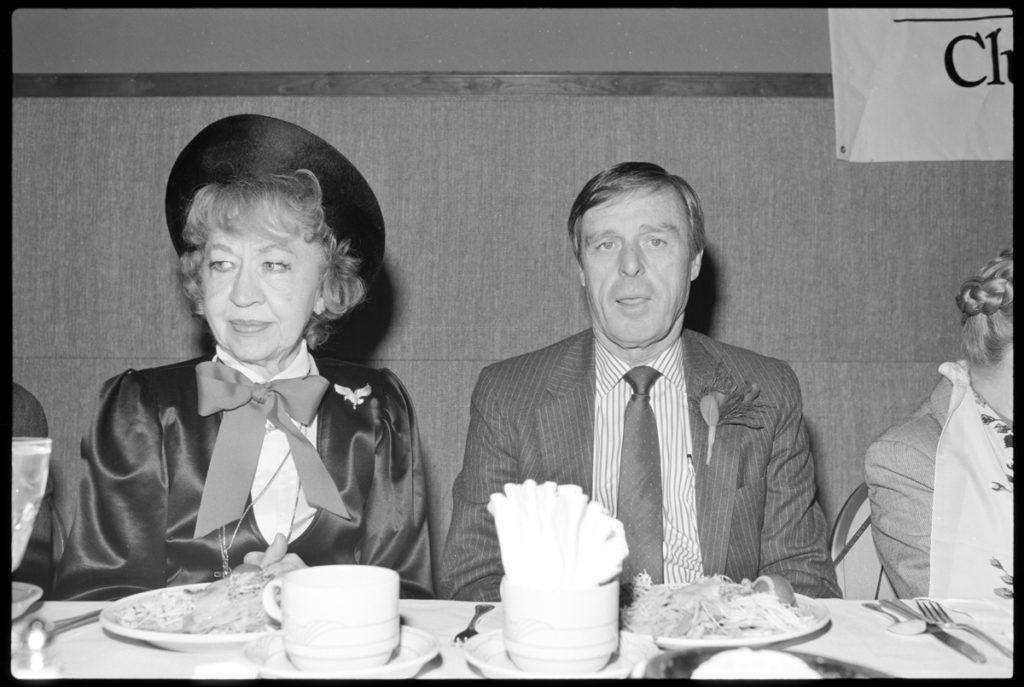 Psychic, Jean Dixon, and Baltimore Sun Publisher, Reg Murphy