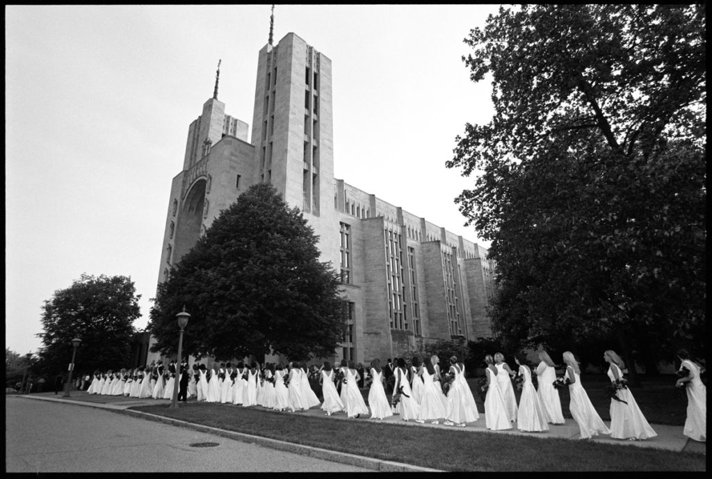 Institute of Notre Dame, Commencement, Cathedral of Mary Our Queen