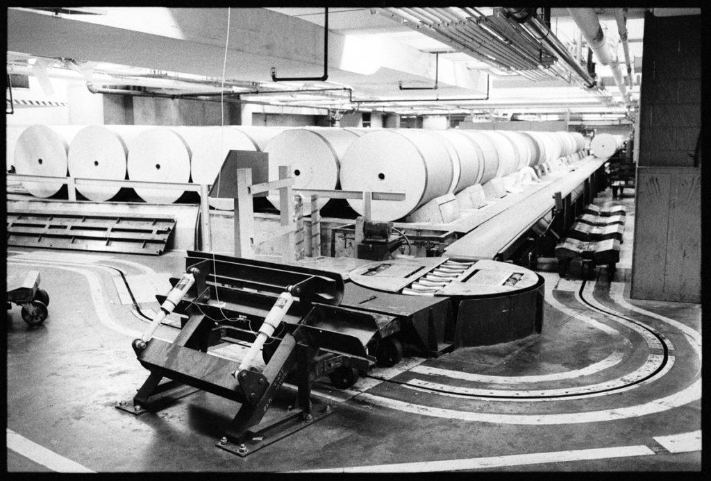 Newsprint Storage