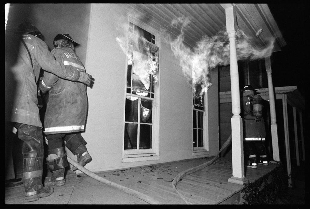 Fire, 31st Street, Baltimore