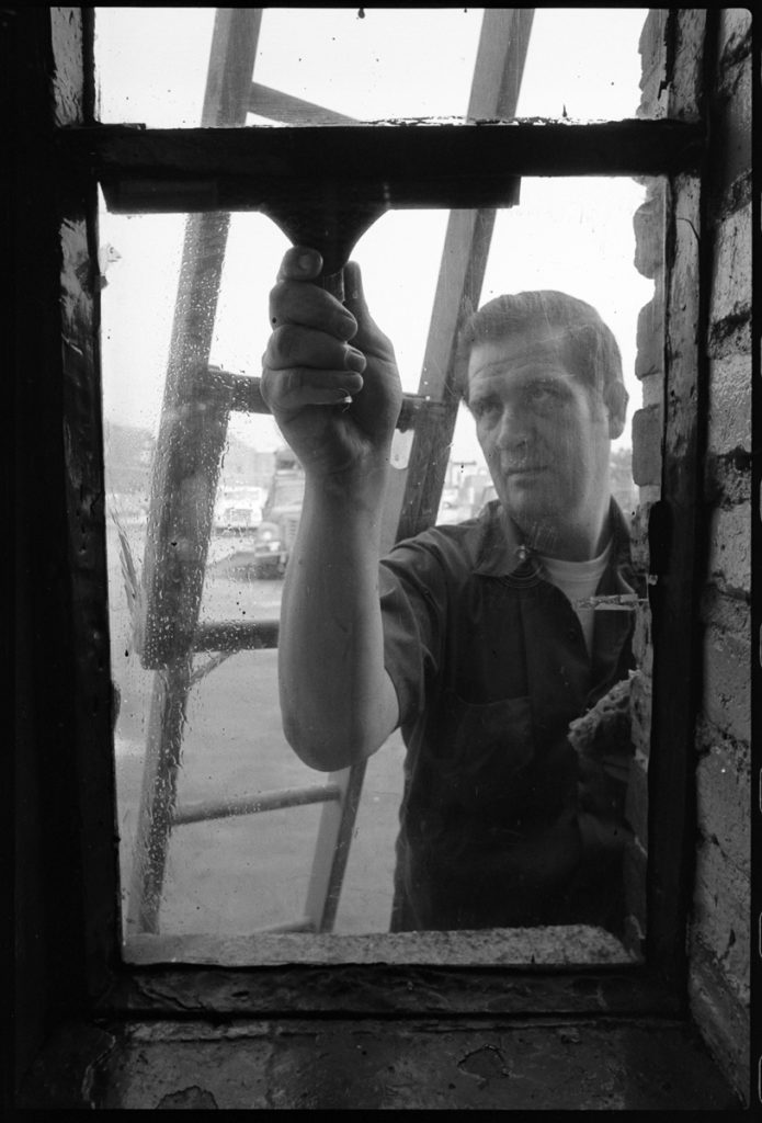 William Dickson, Window Washer