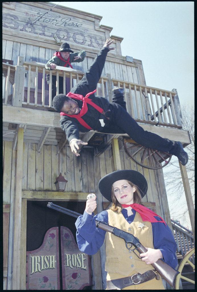 Stunt Show Performers, Six Flags America