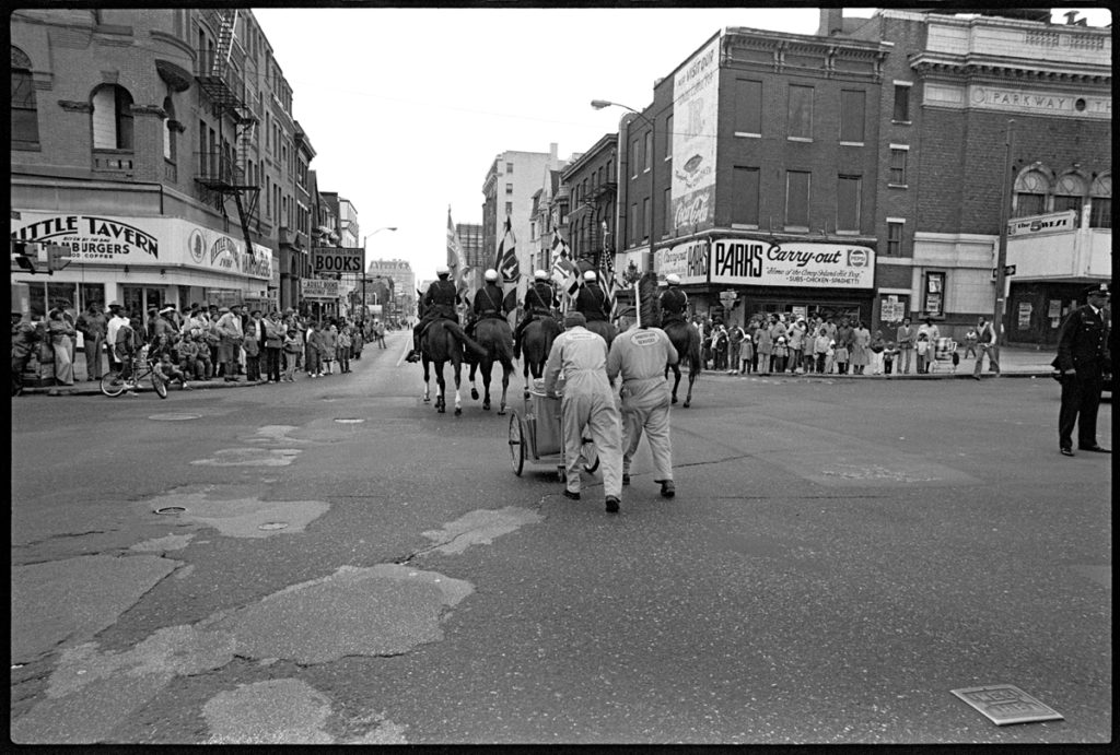 Thanksgiving Parade, North Avenue and Charles Street